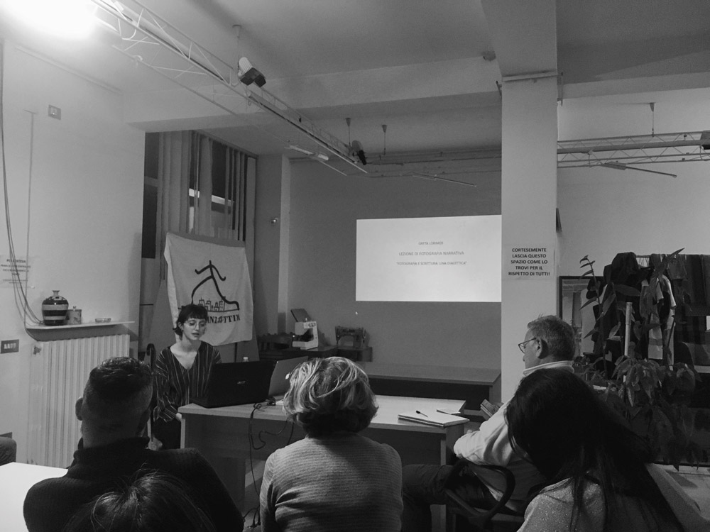 """Guest lecturer """"Photography and writing: a dialectic"""""""